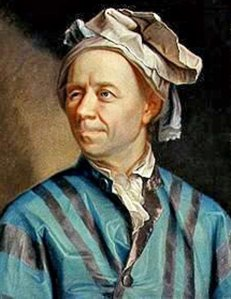 18th century mathematician Leonhard Euler